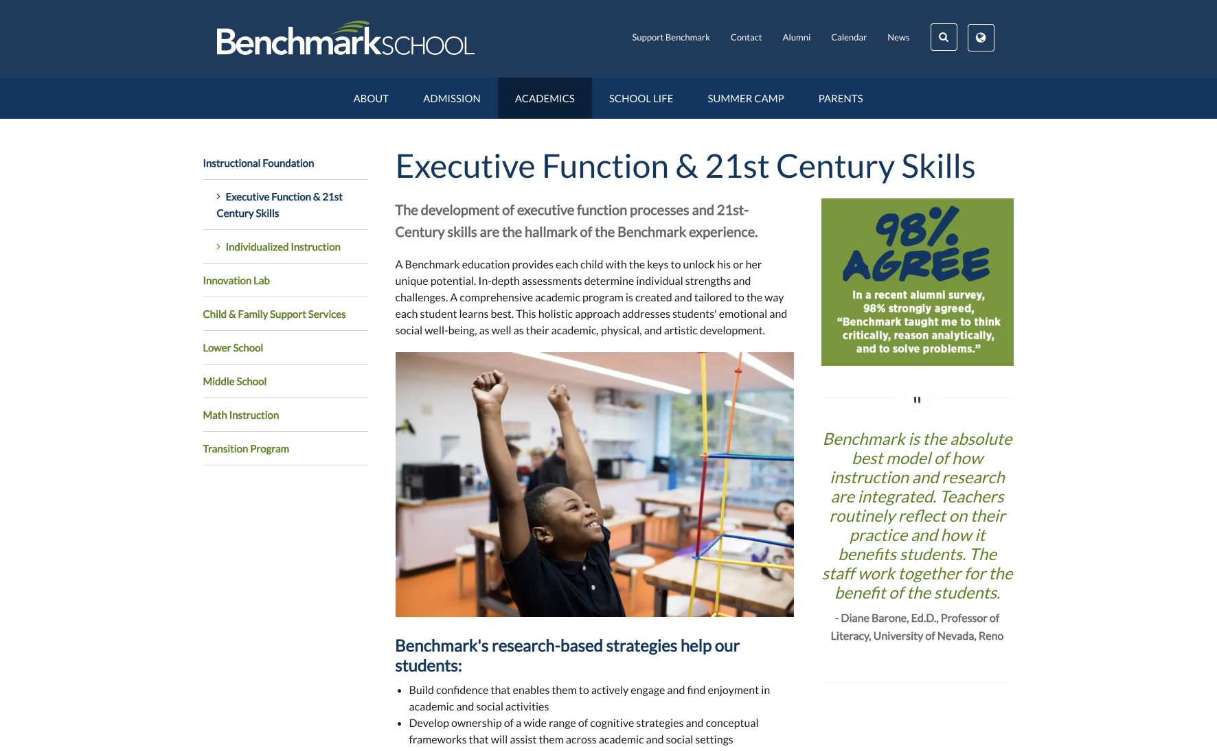 ExecutiveFunction21stCenturySkills-BenchmarkSchool2019-01-2812-08-00